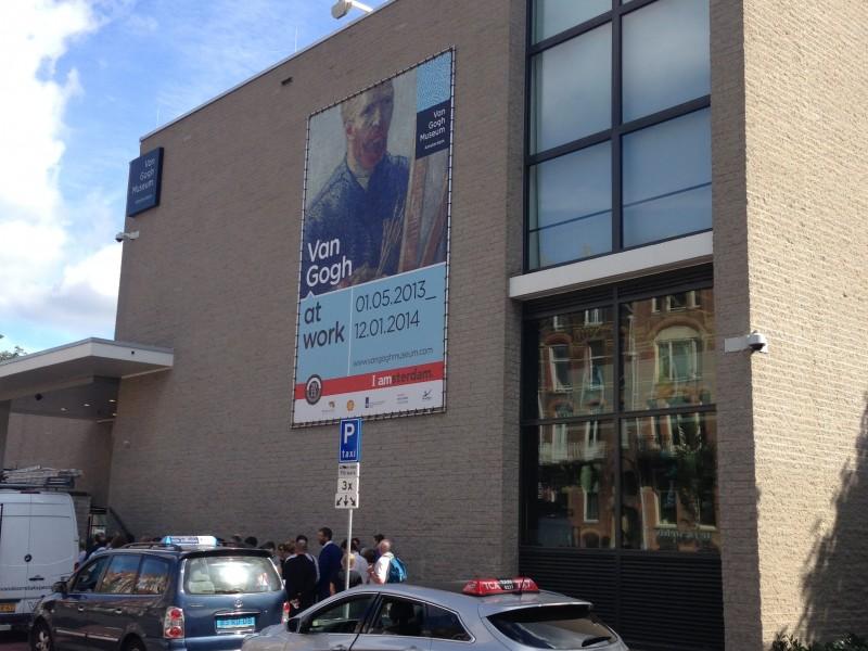 Fase 1 van Gogh Amsterdam