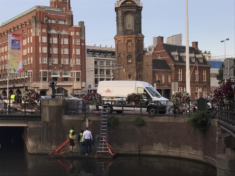 Herstel Kadermuur Rokin Amsterdam